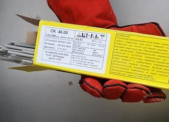 Технические характеристики электродов ОК 46