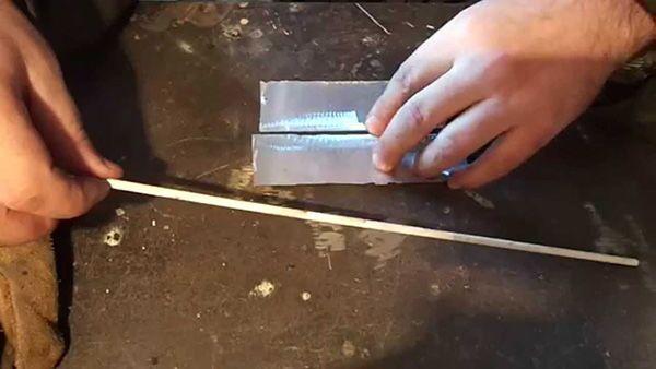 Электроды для сварки алюминия инвертором