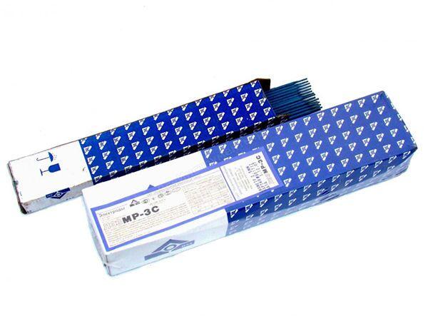 Электроды для сварки постоянным током марки МР 3