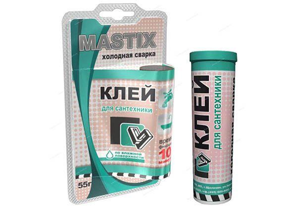Холодная сварка Mastix для сварки сантехники