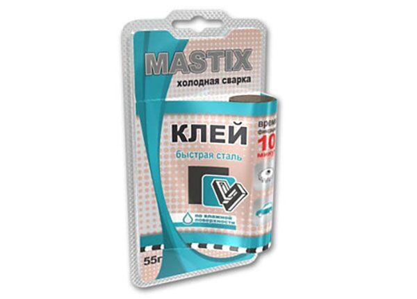 Холодная сварка быстрая сталь Mastix