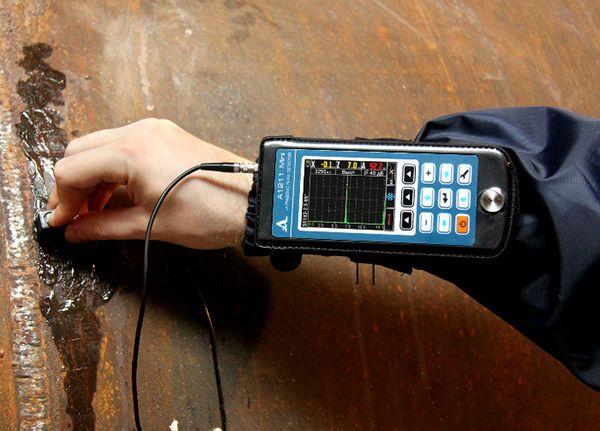 Дефектоскоп для сварных швов согласно ГОСТ 23667-85