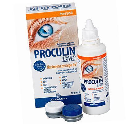 Капли Прокулин для глаз