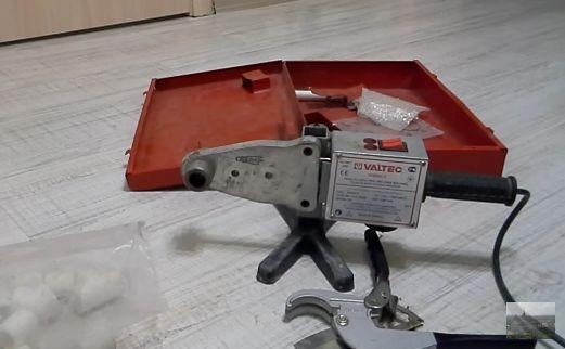 Сварочный аппарат для ПП труб ручного типа