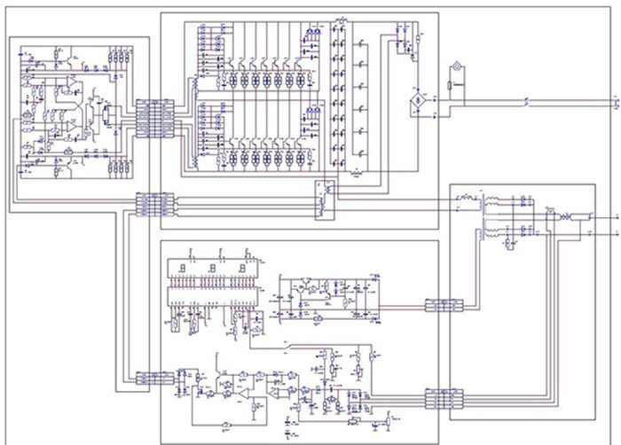 Схема сварочного аппарата Неон ВД 201