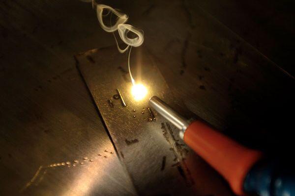 Импульсная лазерная сварка