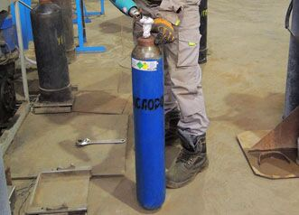 Кислород технический газообразный