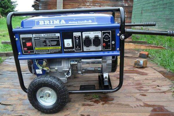 Генератор BRIMA LT 8000 B
