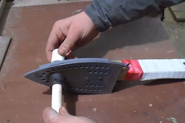 Пайка полипропиленовых труб самодельным аппаратом