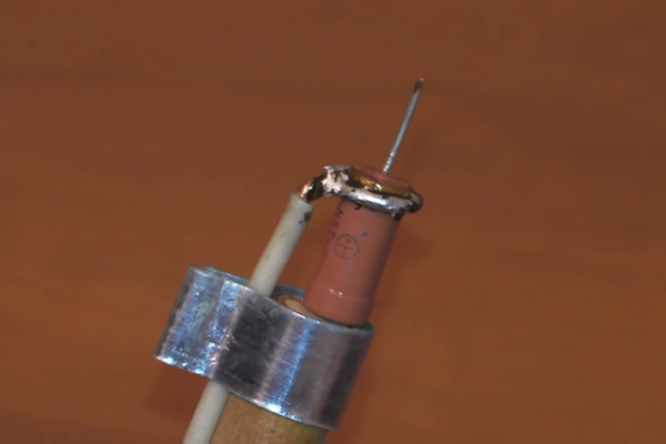 Мини паяльник на основе резистора