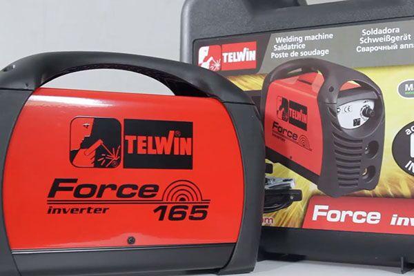 Сварочный инвертор Telwin Force 165