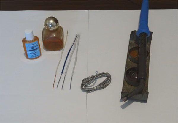 Пайка алюминия оловом в домашних условиях