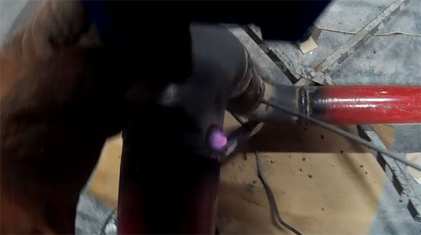 Сварка труб электродами ЦУ-5