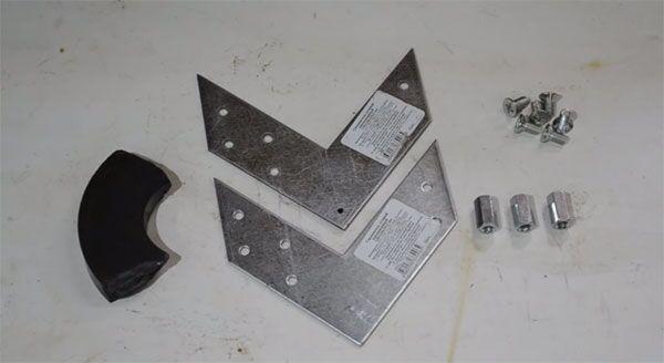 Комплектующие для изготовления магнитного уголка