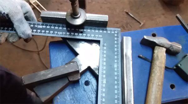 Самостоятельное изготовление угловой струбцины для сварки