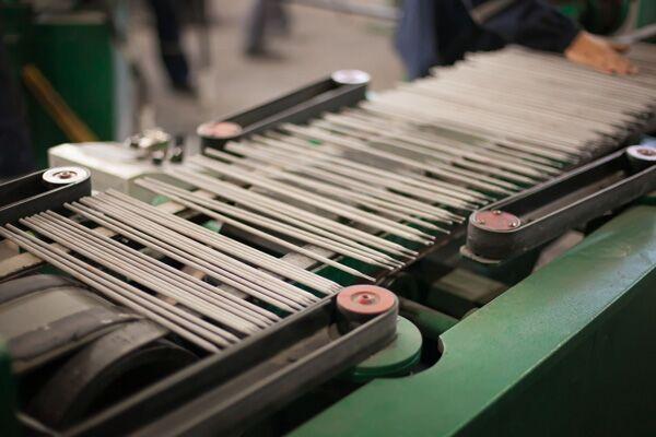 производство электродов для сварки